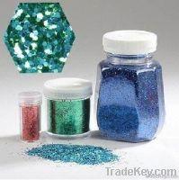 Hexagonal PET glitter powder- high quality
