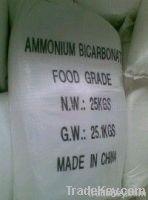 Ammonium Bicarbonate Food Grade 99.5% Min