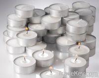White Tea Light Candle