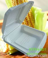 Biodegradeble  Disposable Environmental Cornstarch  Lunch Box