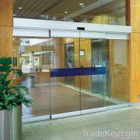 Tempered Safe Glass   Auto Sensor Door