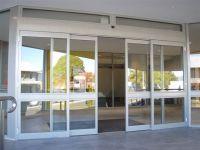 Stainless Steel Framed Automatic Door  Mechanism