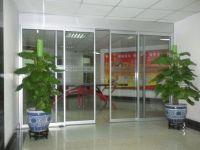 Inductive Automatic Sliding Door with Framed or Frameless Glass Door Leaf