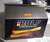rolf car oil
