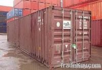 Seaworthy containers