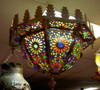 Moroccan handmade lamp