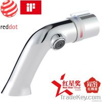 New fashion Hot and cold water all-brass wash basin faucet Red Dot