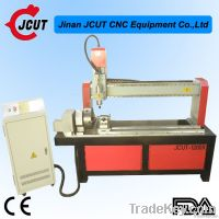 Rotary axis cnc router machine for cylinder/column/round object