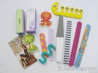 emery board nail art tool