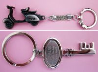 Metal / soft PVC keychain