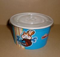 Disposable Ice Cream Paper Cups Frozen Yogurt Paper Cups Bowls