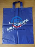 Plastic Soft Loop Hand Bag, Shopping bag