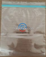 PE Zip lock bag, zipper bag, reclosed bag, packaging bag, plastic zipper bag