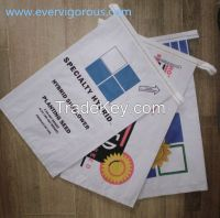white kraft paper bag, easy open mouth paper bag,