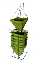 Iron Frame Moss Basket