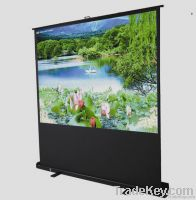 Scissor/pole floor Standing Projection screen