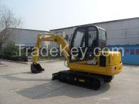 4.5Tons little load capacity CE certification crawler excavators with Cummins Engine Model CT45