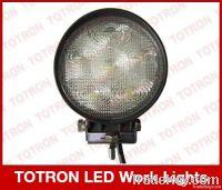 """4"""" 18W 9-32V Round LED Work Light"""