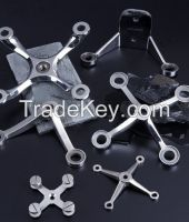 glass spider fittings for stainless steel