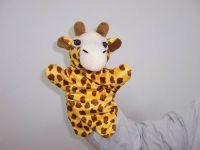 Plush Giraffe hand puppet