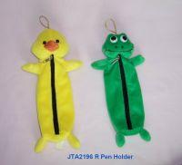 Pencil Case (Plush Duck & Frog)