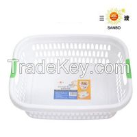 Popular plastic storage basket food basket laundry washing basket A-1