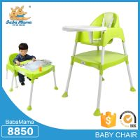 3 in 1 portable baby high chair multifunction baby table and chair  baby dinner chair