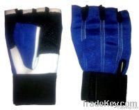 Blue Spandex Black Palm