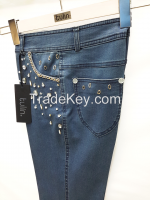 High Quality Plus Size Fashionable Jeans for Women