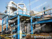 black motor oil decolorization refining machine