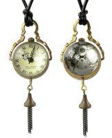 Men Women Modern Pocket Watch Glass Ball Special Gift