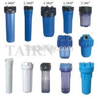 "20"" big blue plastic filter housing, domestic ro system plastic water filter housing"