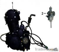 MOTORCYCLE CARBURETOR AND