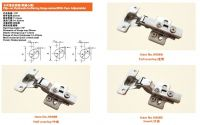 Clip-on Hydraulic buffering hinge series(With Cam Adjustable)