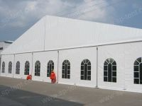 outdoor event tent 25x40m with transparent wall