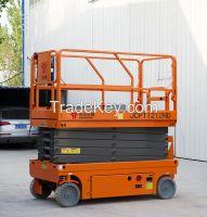 14m working height hydraulic driving scissor work platform