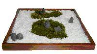 Japanese zen  moss garden