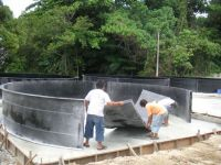 fibreglass fish tank