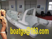 RIB520- rigid inflatable boat grp hull fiberglass hull