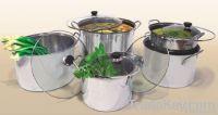 10pcs stainless steel stock pot