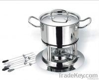 stainless steel fondue