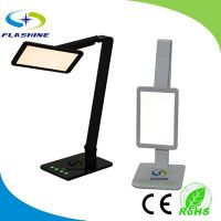 2014 New Launched Luxury LED Lamp with iPhone 5 and USB Charging Port