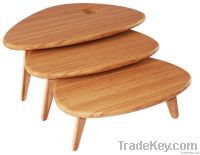 Pebble BunchSolid bamboo Coffee Table