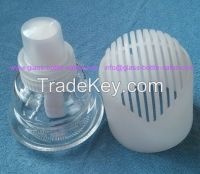 Lotion Glass Bottle and Glass Cosmetic Jar and glass nail polish bottle