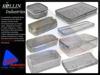 Stainless Steel mesh Sterilizing Instruments Trays
