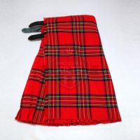 Royal Stewart Tartan Kilt for Men 13oz and 16oz with Custom Options