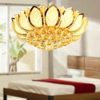 Crystal Ceiling Lamp with