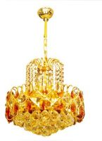 New Crystal Chandelier Lamp with shade of bouquet, Bedroom Lamp, Restaur