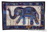 Home Decorative Old Patch Work Throw Wall Hanging Tapestry Indian art