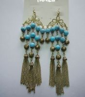 fashion earrings with tassels